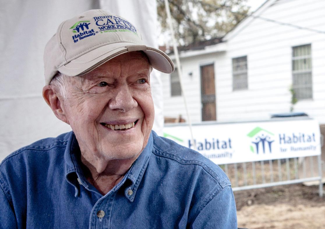 Jimmy Carter for Habitat