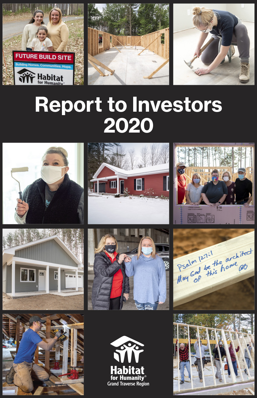 2020 Anual Report cover